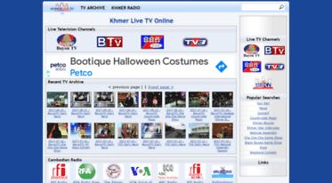 Get Khmerlive tv news - Khmer Live TV Online - Khmer Live TV and Radio