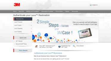 Get Lava-elite com news - Authenticate your Lava™ Restoration