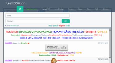 Get Leech360 xyz news - Free Cbox Leech & Premium Link Generator