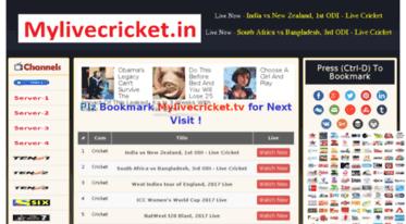 watch tv live cricket
