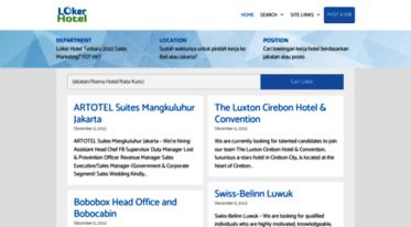 Get Lokerhotel Com News Loker Hotel Lowongan Kerja Hotel Terbaru 2021