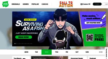Get M webtoon com news - LINE WEBTOON - Global Digital Free Comics