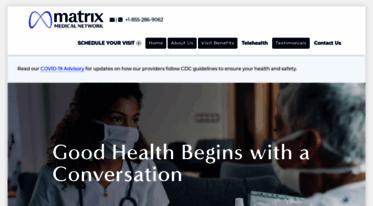 Get Matrixhealth Net News Matrix For Me Convenient In