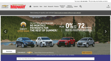 Chevrolet Dealers Az >> Get Midwaychevy Com News Chevrolet Dealership New Used