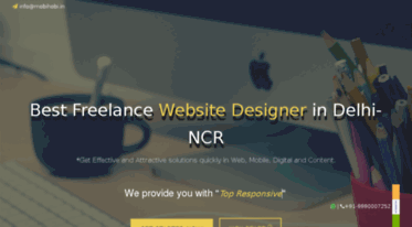 Get Mobihobi In News Best Freelance Website Designer In Delhi Website Designing Company Delhi