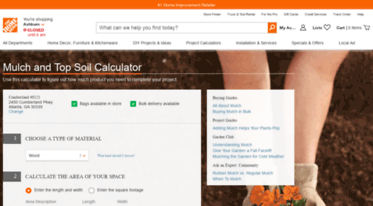 Get Mulch-calculator homedepot com news - Mulch Calculator