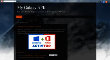 Get Mygalaxyapk blogspot com news - My Galaxy APK