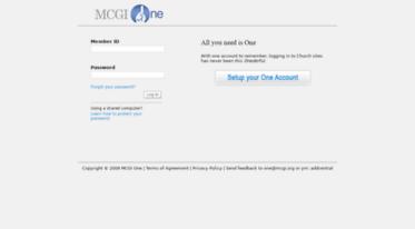 Get One mcgi org news - Login Page | Members Church of God