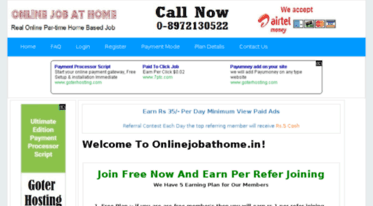 Get Onlinejobathome in news - Part Time Job | Data Entry Jobs