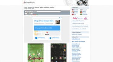 Get Onsmartphone com news - Free themes for Android, Nokia