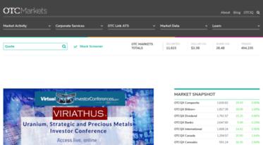 Get Otcmarkets com news - OTC Markets | Official site of