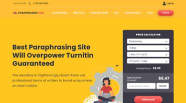 Get Paraphrasetool org news - Best Paraphrase Tool Online