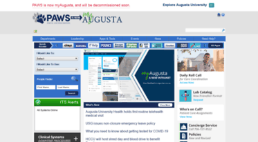 Get Pawsgruedu News Paws Augusta University Intranet