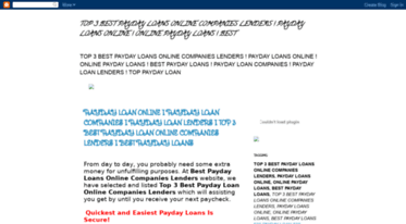 Online Payday Loan Lenders >> Get Payday Loans Online Companies Lenders Blogspot Com News