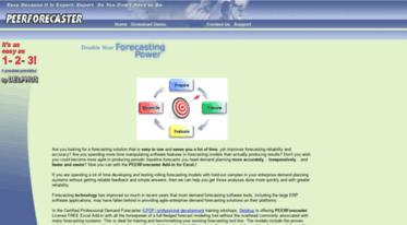Get Peerforecaster com news - PEERForecaster as FREE Excel Add-in