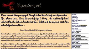 Get Phoenixsong net news - PhoenixSong net :: A Harry/Ginny