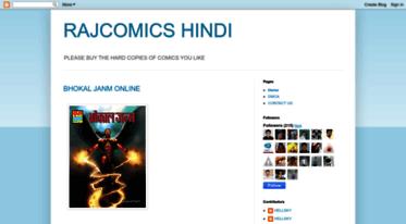 Get Rajcomicshindi blogspot com news - RAJCOMICS HINDI