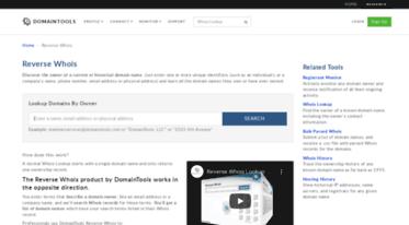 Website Owner Lookup >> Get Reversewhois Com News Reverse Whois Lookup Domain