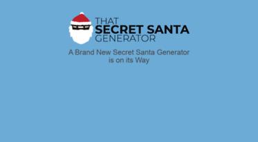 Get Secretsanta Redder Co Uk News A Free Generator For All Secret