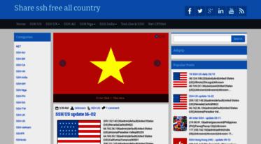 Get Sharesshfree blogspot com news - Share ssh free all country