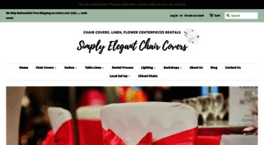 Groovy Get Simplyelegantchaircovers Com News Elegant Chair Covers Machost Co Dining Chair Design Ideas Machostcouk