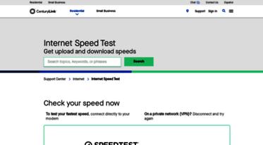 Centurylink Net Login >> Get Speedtest Centurylink Net News Internet Speed Test Centurylink