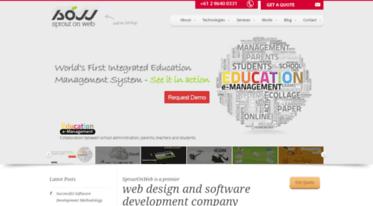 Get Sproutonweb com news - Web design Sydney Mysore