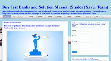 get student saver blogspot com news test bank and solution manual rh deets feedreader com