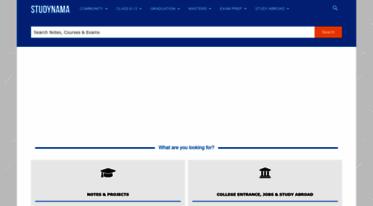 Get Studynama com news - Studynama com - Download Free Notes