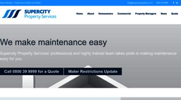 Get Supercitypropertyconz News Property Maintenance
