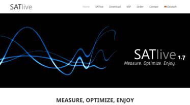 Get Take-sat de news - SATlive Audio Measurement Software