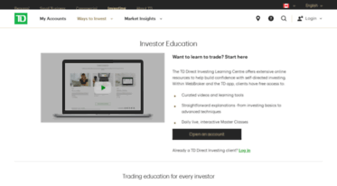Get Tddirectinvestingseminars com news - Investor Education