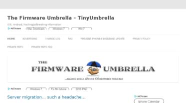 Get Thefirmwareumbrella blogspot com news - The Firmware