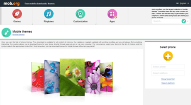 Get Themes mob org news - Mobile themes - free download  Themes for