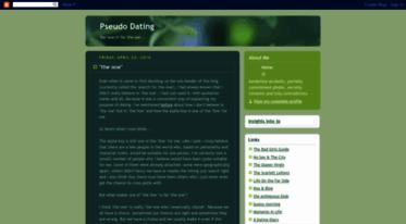 Pseudo dating