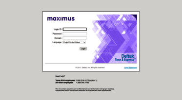 Get Timesheets maximus com news - Deltek Time & Expense - Login