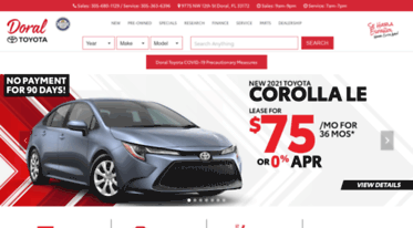 Toyota Of South Florida >> Get Toyotaofsouthflorida Com News Toyota Dealership Doral