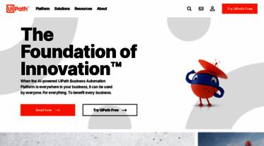 Get Uipath com news - Robotic Process Automation   UiPath