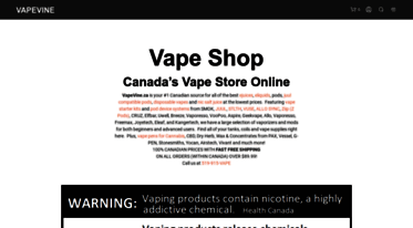 Get Vapevine ca news - Vape Canada | Online Vape Shop
