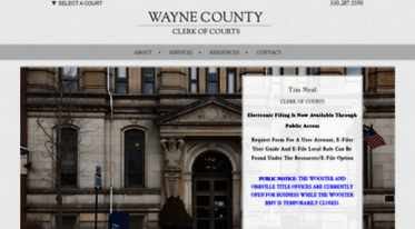 Get Wayneclerkofcourts org news - Clerk of Courts | Wayne