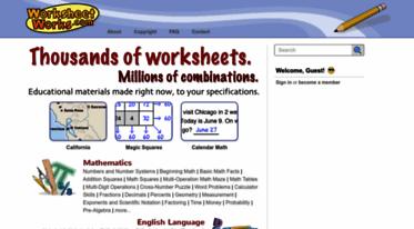 Get Worksheetworks.com news - WorksheetWorks.com