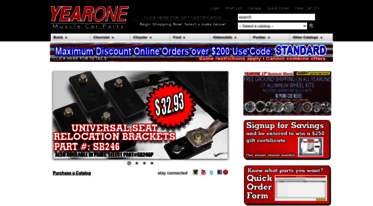 Get Yearone com news - YEARONE Classic Muscle Car Parts