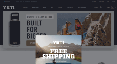 Get Yeticustomshop com news - YETI   Premium Coolers