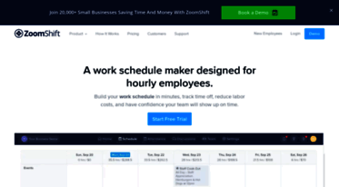 get zoomshift com news free work schedule maker zoomshift